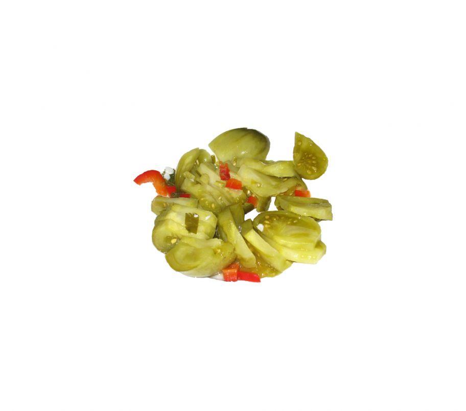 Помидоры зеленые резаные 1 кг (відро)
