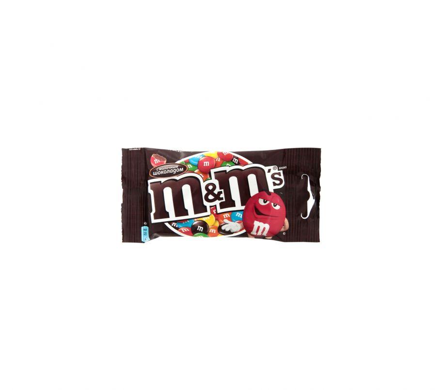 M&M`s Драже с шоколадом 45г