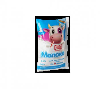 Молоко Злагода Молоко пастеризованное для детей 3,2%, 900г