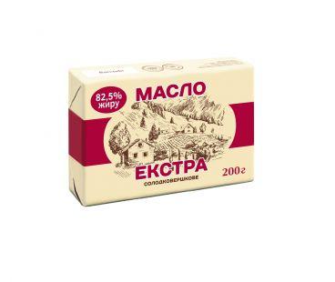 Доставка продуктов на дом в Новомосковске НМ Масло Сливочное Экстра 82,5% (200 г)