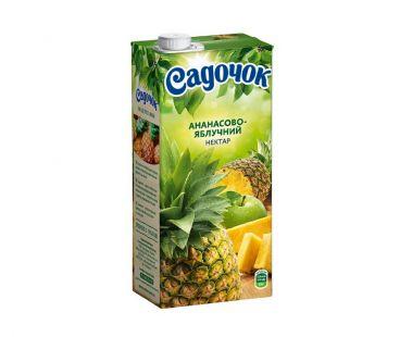 Сок Садочек Ананас яблоко т/п 0,95л