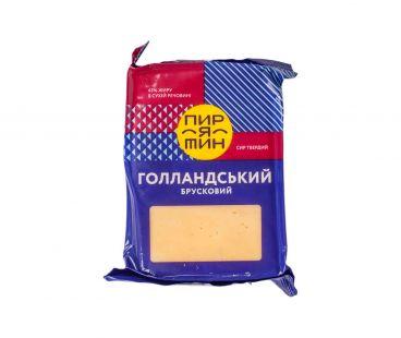 Фасованные твердые сыры Пирятин сыр Голландский фас 160г