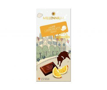 Millennium Миллениум Шоколад черный  Discover Europe Orange 100г