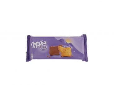 Milka печенье в шоколадной глазурью 200г