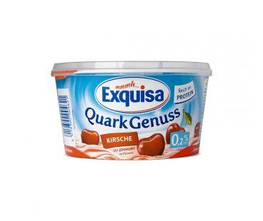 Exquisa Десерт творожный с вишней 0,2% 500г