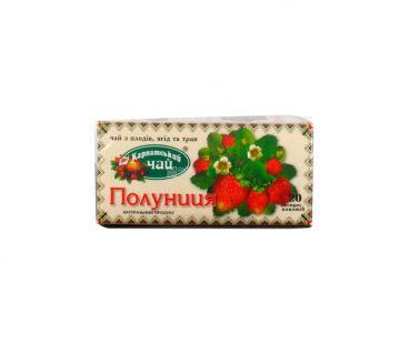Чай фруктово-цветочный Чай карпатский Клубника 20пак