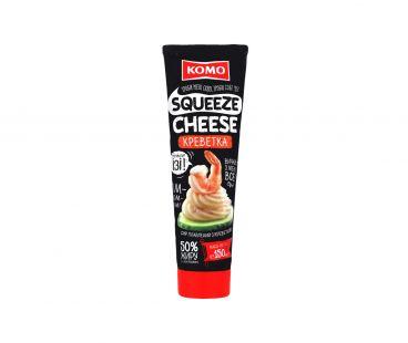 КОМО Сыр плав. 50% С Креветками 150г тюбик