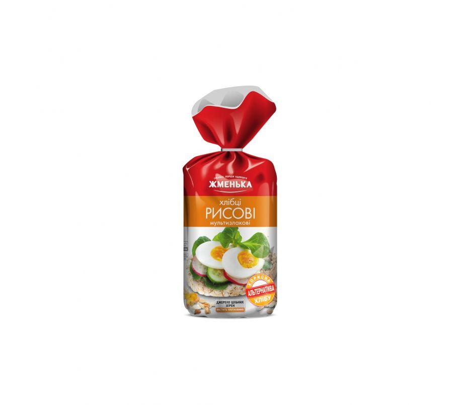 ЖМ Хлебцы рисовые мультизлаковые 100г