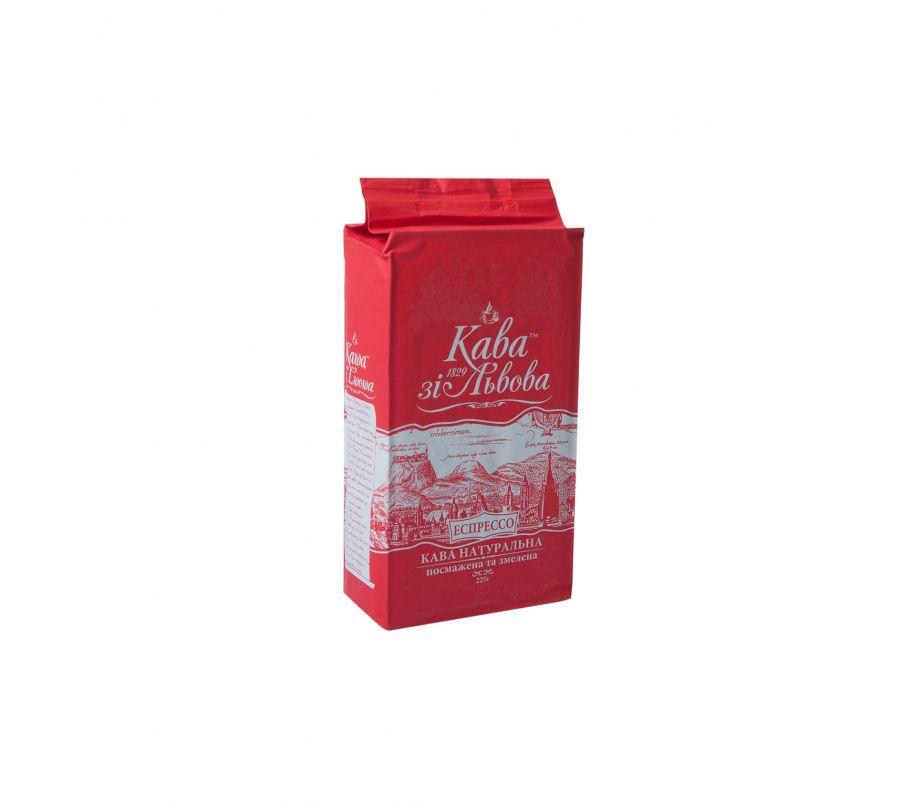 Кофе молотый натуральный Кава зі Львова