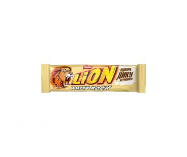 Батончики ШБ Батончик Nestle Lion white rock 42  гр