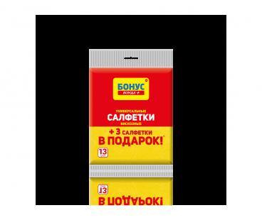 Товары для уборки БОНУС Салфетки вискозные 10 шт