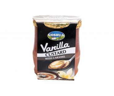 Goshua Десерт ванильный с карамелью 4,2% 140г