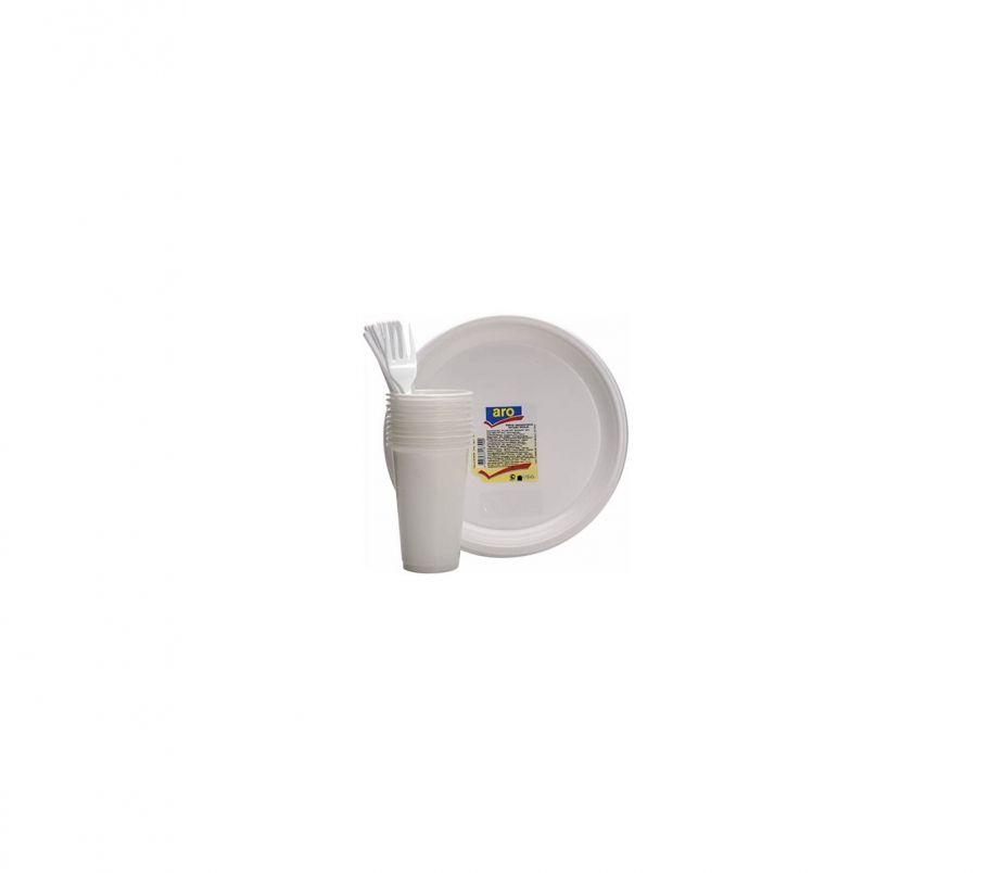 Набор Посуды Одноразовой 10 персон