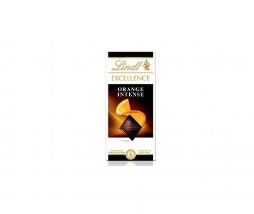 Lindt Excellence шоколад Апельсин 100г