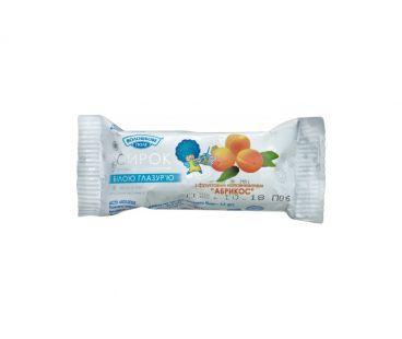 Молочные продукты Волошкове Поле Сырок в белой глазури абрикос 26% 36г