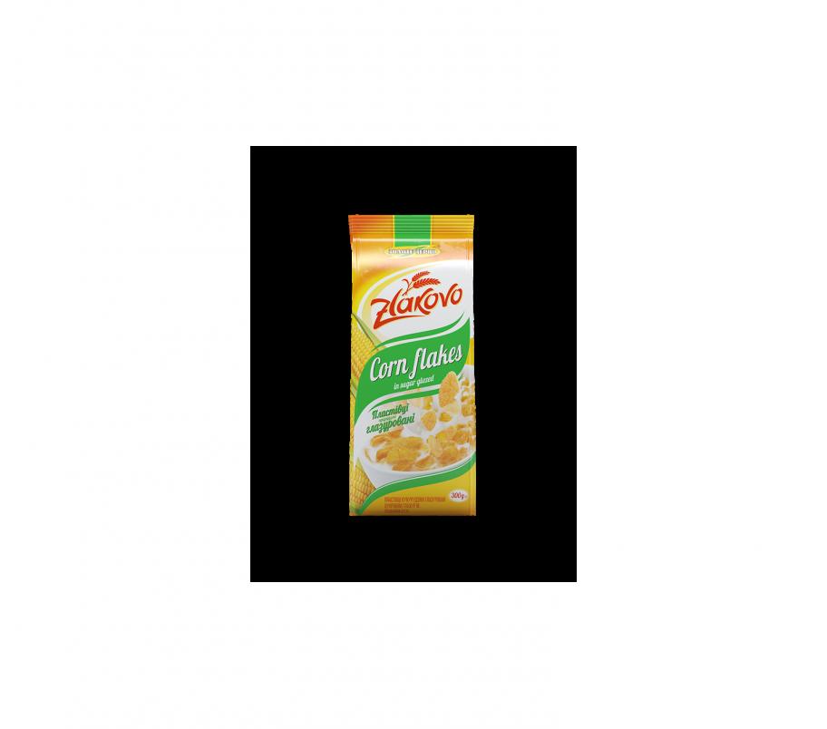 Zlakovo Хлопья кукурузные Золотое зерно глазированные 300г