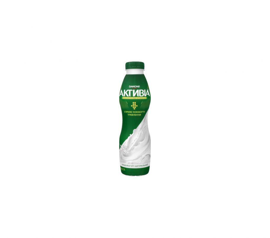 Активия Бифидойогурт 1.5% классический пэт 580г
