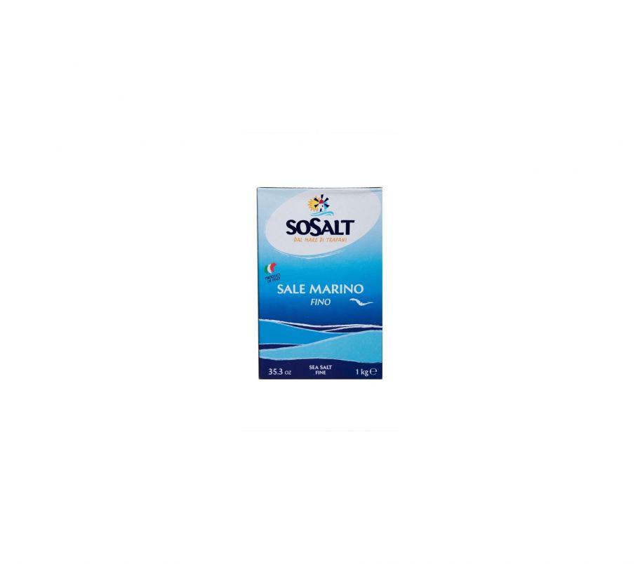 Sosalt Соль морская мелкого помола 1кг