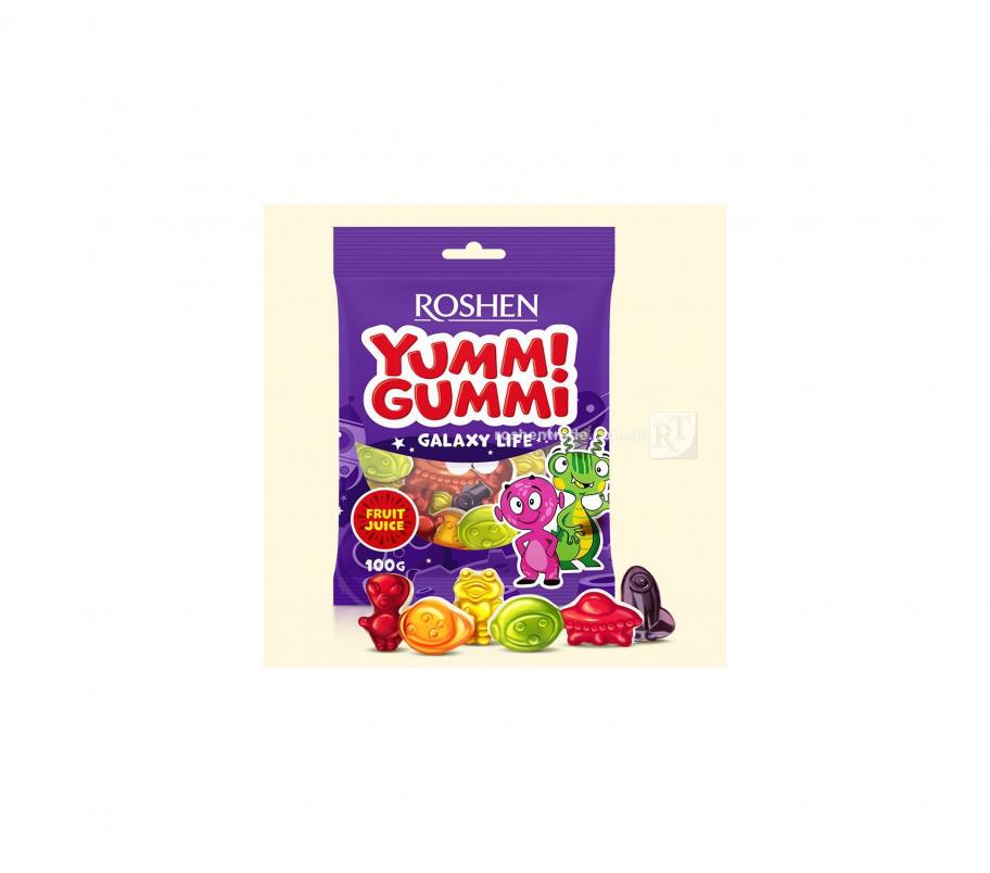 Roshen Желейные конфеты Galaxy Life 100г