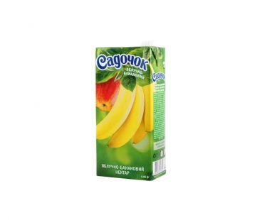 Сок Садочок яблоко банан т/п 950г