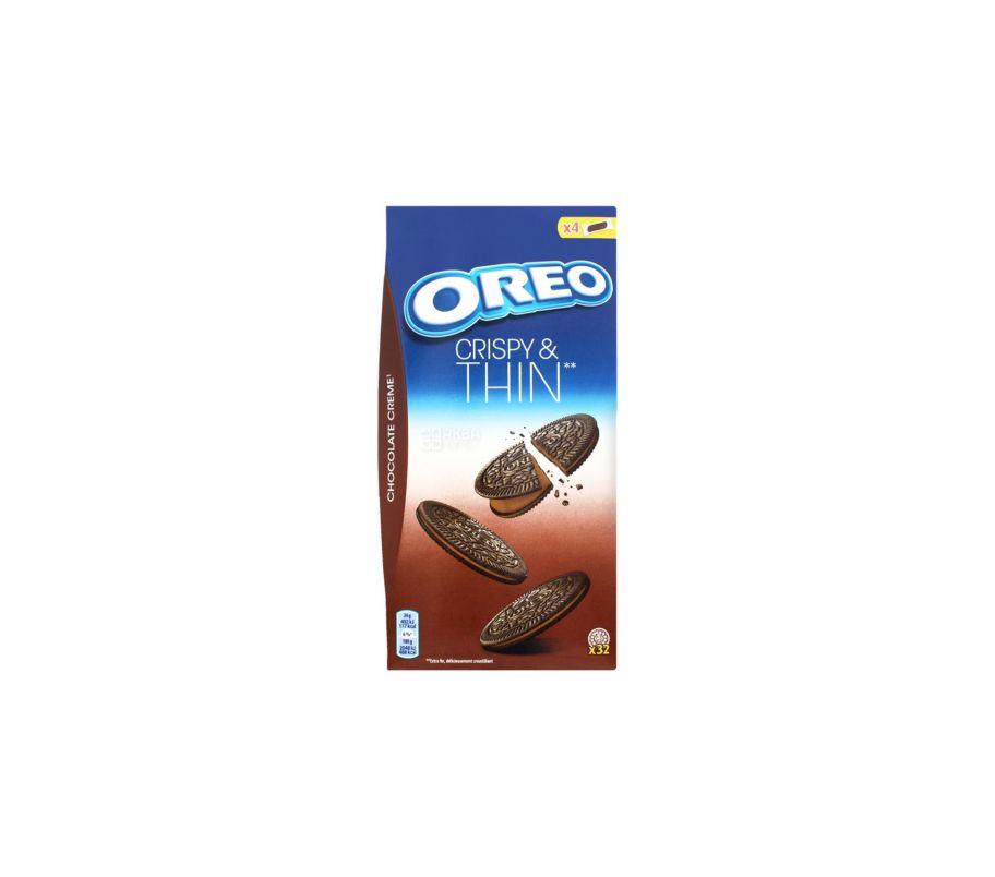 Oreo печенье THINS с какао 192г