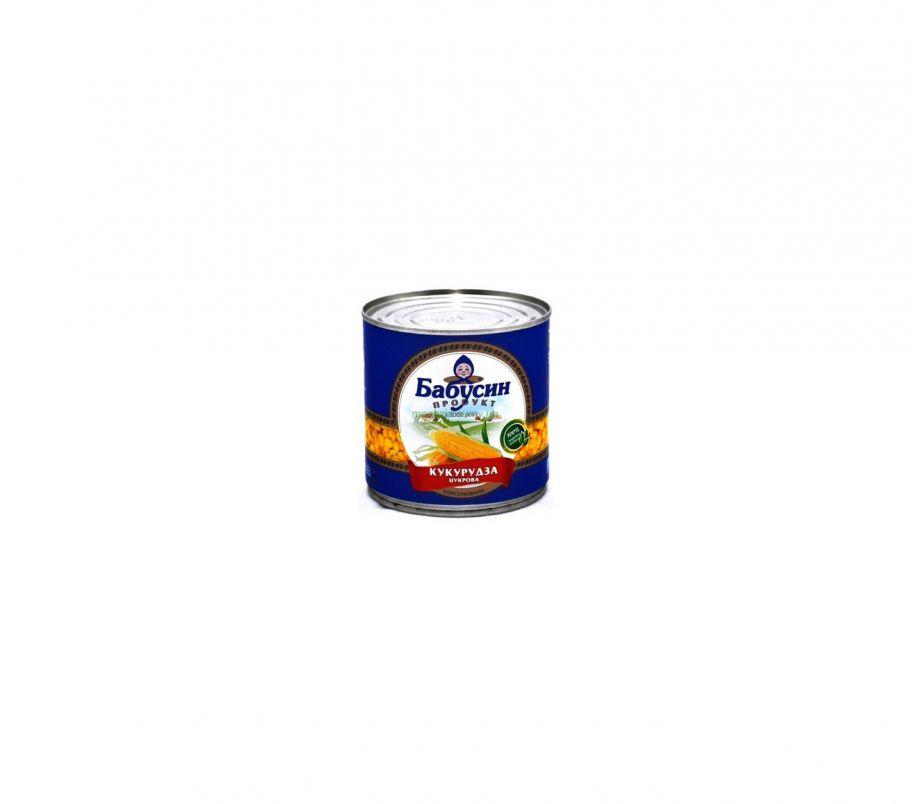Бабусин продукт Кукуруза ж/б 340г