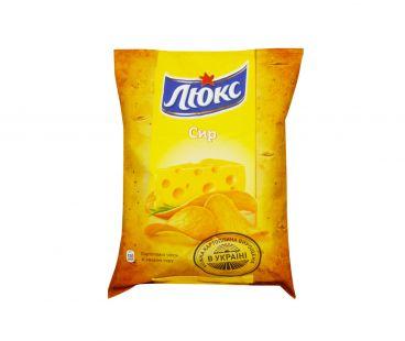 Люкс чипсы Сыр 133г