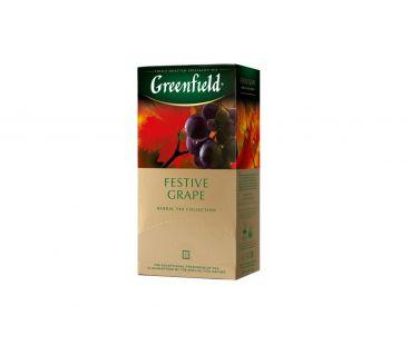 Чай травяной пакетированный Гринфилд Greenfield Festive Grape, 25 шт.