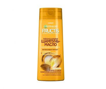 Товары по уходу за волосами Garnier шампунь-масло  Fructis тройное восстановление 400мл
