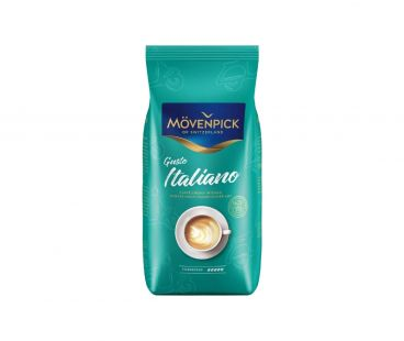 Movenpick Кофе CREMA GUSTO ITALIANO в зернах 1кг
