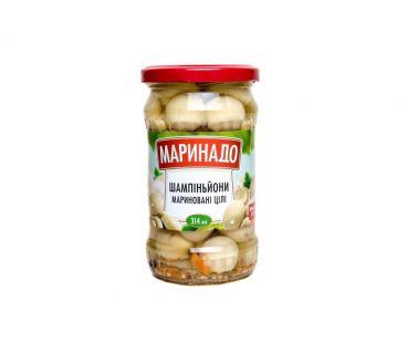 Маринадо Грибы шампиньоны маринованные 275мл
