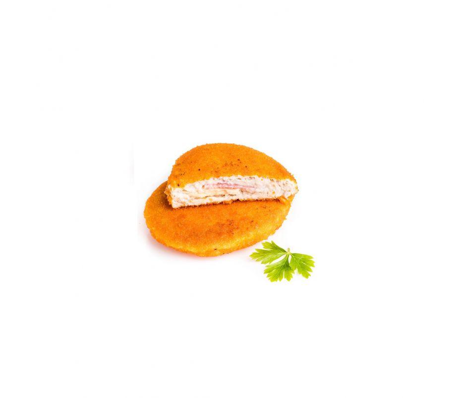 Кордон-блю с сыром и ветчиной