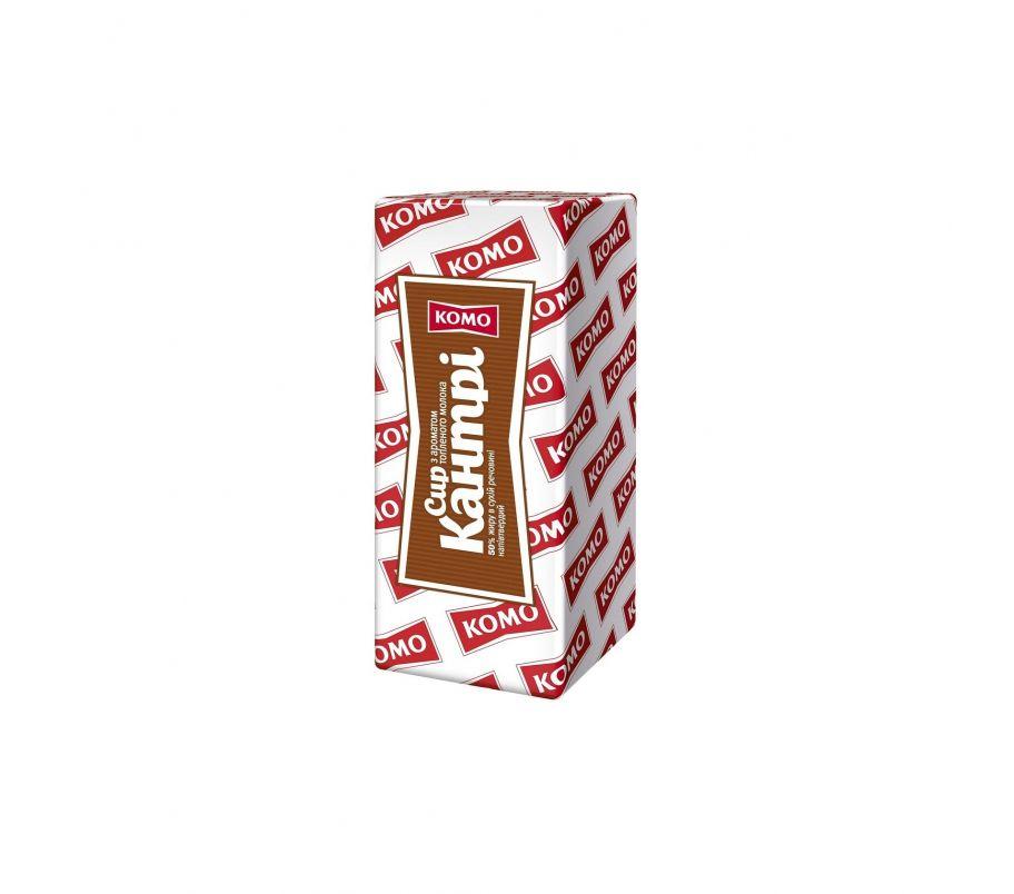 КОМО Сыр Кантри 50% с ароматом топленого молока брус