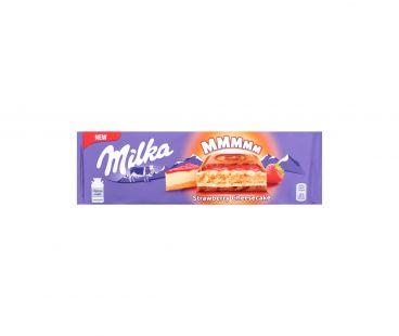 Milka Шоколад вкус чизкейка-клубн нач-печеньем 300г