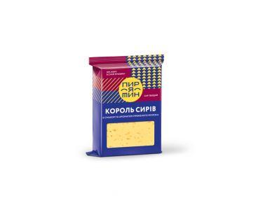 Фасованные твердые сыры Пирятин сыр Король Сыров фас 160г