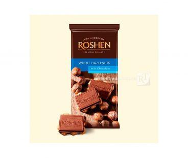 Rochen Шоколад молочный с целым лесным орехом