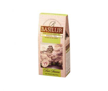 Чай Basilur Чай зеленый Базирул Basilur Четыре сезона Весенний картон 100 г