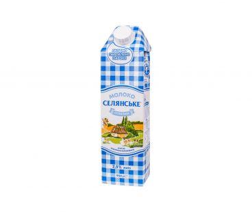 Селянське Молоко Особенное ультрапастеризованное 2,5% т/д 950мл