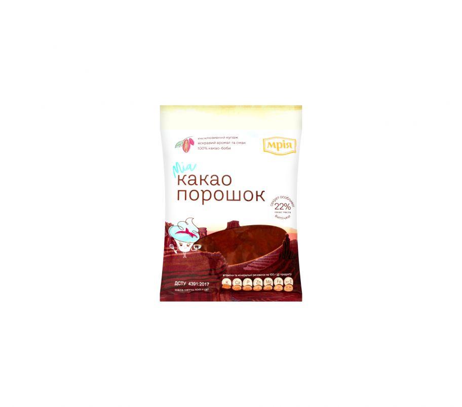 Мрия какао-порошок 22% 100г