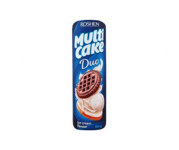 Roshen Multicake ДУО печенье-сендвич пломбир 180г