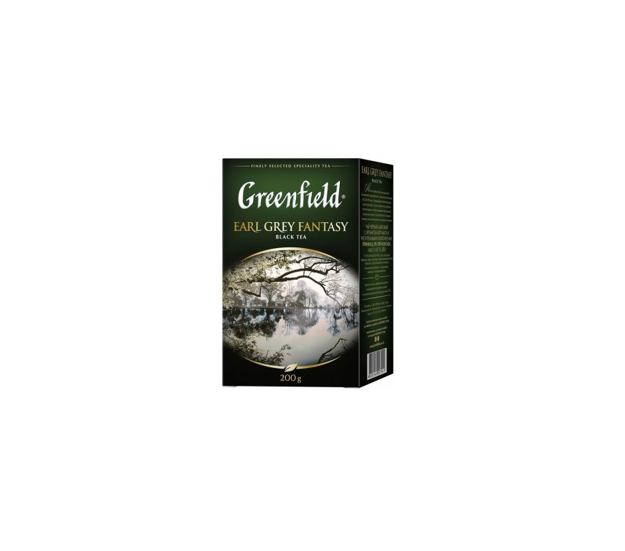 Чай черный Гринфилд Greenfield Earl Grey Fantasy - Эрл Грей 200 г