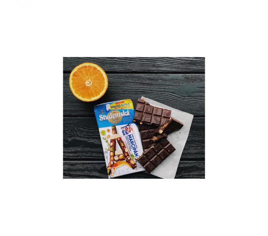 ШБ Шоколад Studentska Апельсин 180 гр