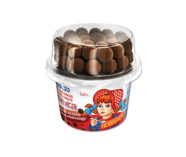 Детская молочная продукция Машенька десерт с шариками  5% 140г
