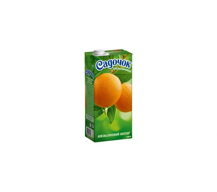 Сок Садочок Апельсин т/п 0,95л