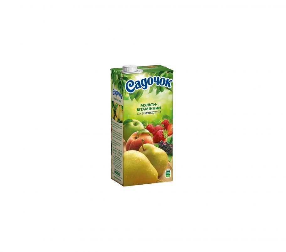 Сок Садочек  Мультивитамин т/п 0,95л