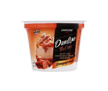Danone Десерт Даниссимо Крем-брюле карамель-орех 6% ст 230г