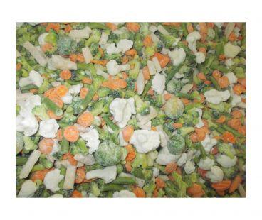 Замороженные овощи ЭК Смесь замороженная Весенняя