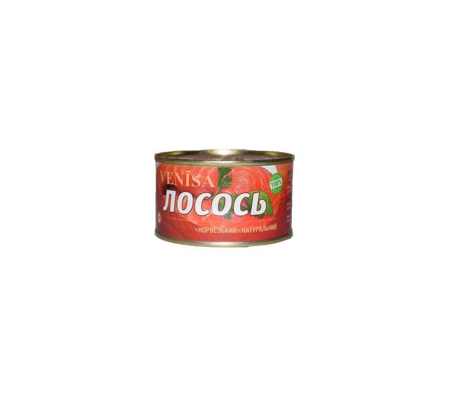 ВИНИСА ТМ Лосось натуральный  240 гр