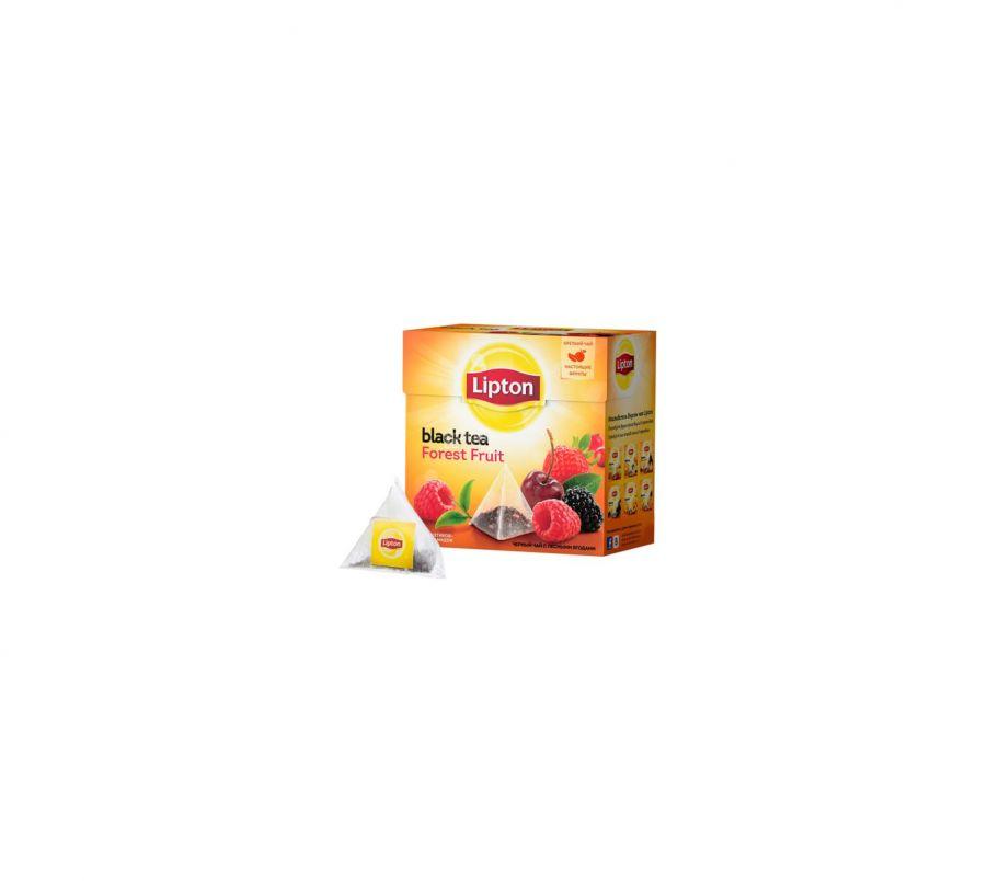 Lipton чай пирамидка фруктовый