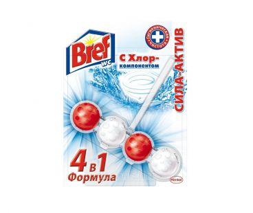 Средства для чистки ванны и туалета BREF шарики для унитаза 1уп